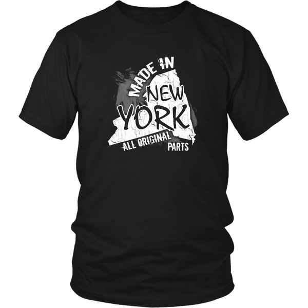 New york t shirt made in new york for Pitbull mom af shirt