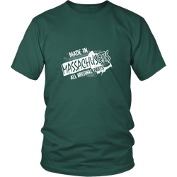 Massachusetts T-shirt - Made in Massachusetts
