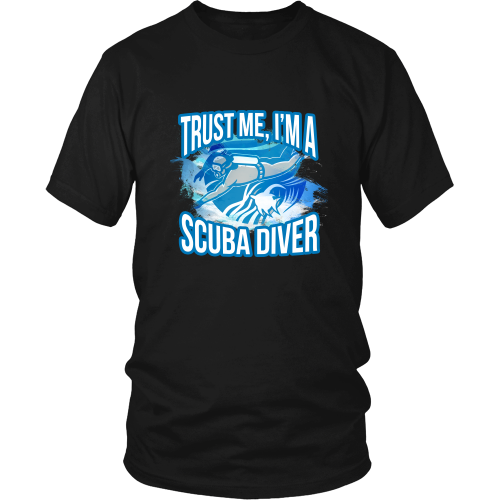 Scuba diving T-shirt - Trust me, I am a scuba diver