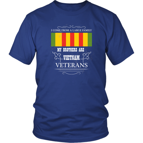 Vietnam Veteran T-shirt - My brothers are Vietnam Veterans