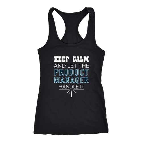 Product Manager T-shirt, hoodie and tank top. Product Manager funny gift idea.