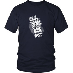 Rhode Island T-shirt - Made in Rhode Island