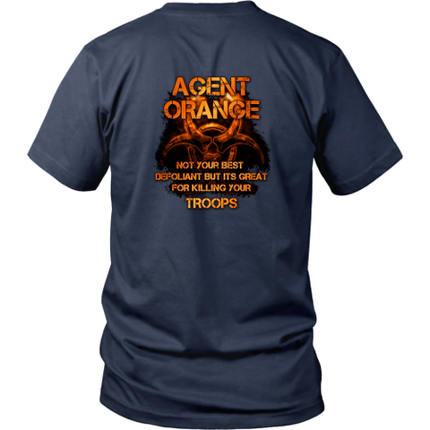 Agent Orange T-shirt - Not your best defoliant (Back print)