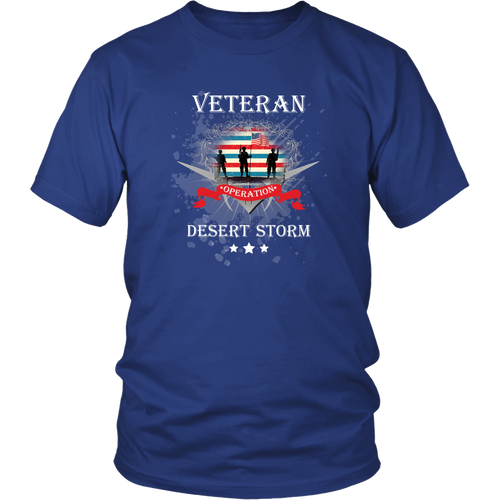 Veterans T-Shirt - Operation Desert Storm
