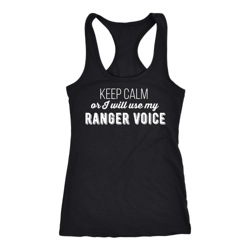 Ranger T-shirt, hoodie and tank top. Ranger funny gift idea.