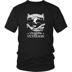 Veteran T-shirt - All men are created equal, then a few become Vietnam Veterans