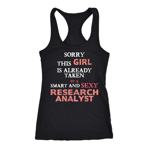 Research Analyst T-shirt, hoodie and tank top. Research Analyst funny gift idea.
