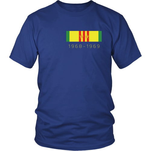 Veterans T-shirt - Southeast Asia (Double sided)