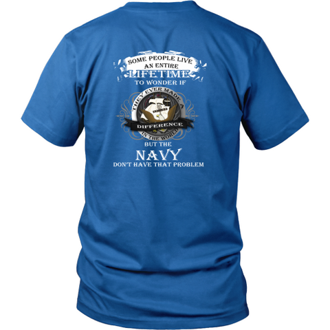 Navy T-shirt - The Navy don't have that problem