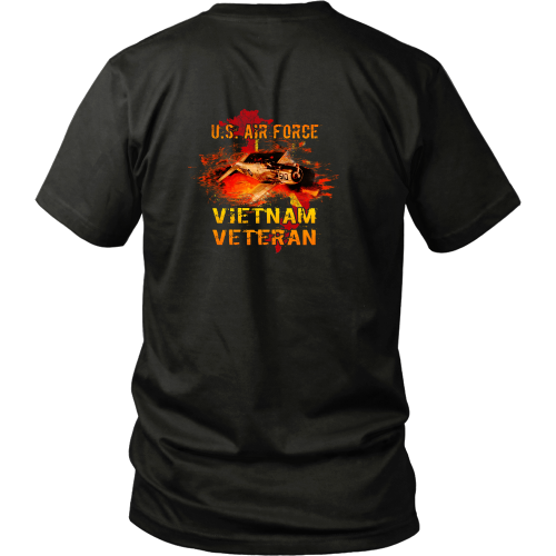 Vietnam Air force T-shirt - U.S. Air Force Vietnam Veteran