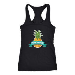 Pineapple T-shirt, hoodie and tank top. Pineapple funny gift idea.