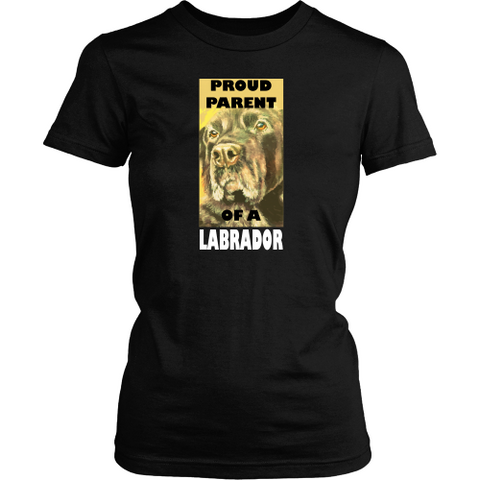 Labrador T-shirt - Proud parent of a labrador