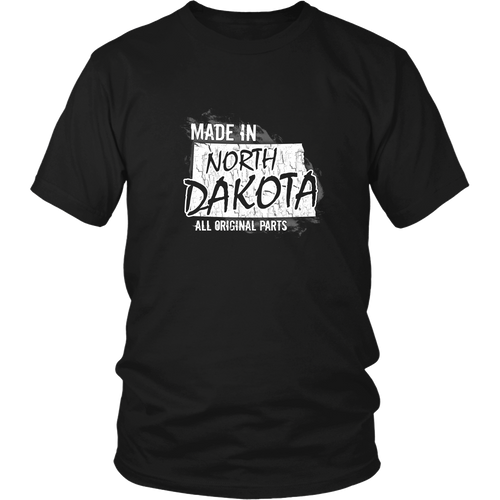 North Dakota T-shirt - Made in North Dakota