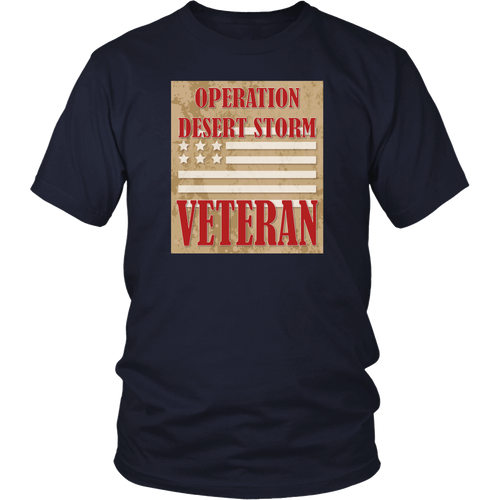 Veteran T-Shirt - Operation Desert Storm