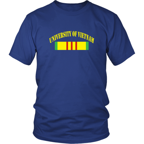 Vietnam Veterans T-shirt University of Vietnam
