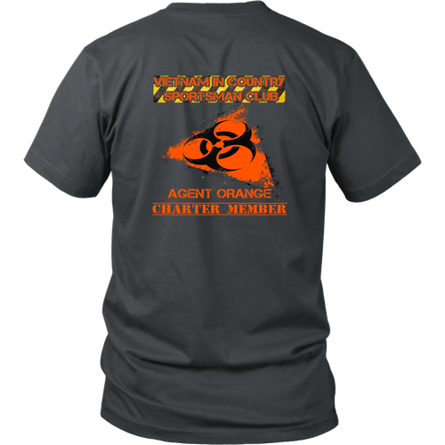 Agent Orange T-shirt - Charter member (Back Print)