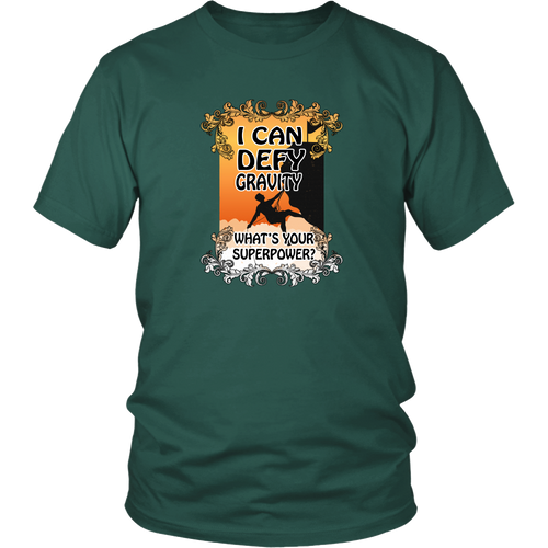 Rock climbing T-shirt - I can define gravity, what's your superpower?