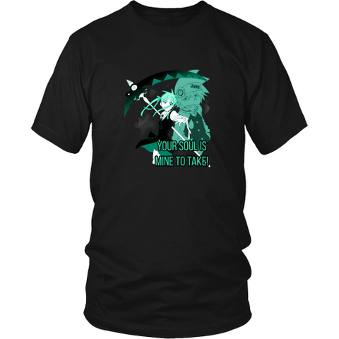 Anime T-shirt - Soul Eater - Your soul is mine to take!