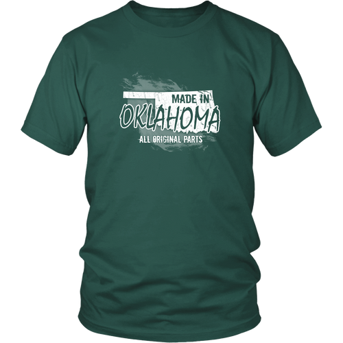 Oklahoma T-shirt - Made in Oklahoma