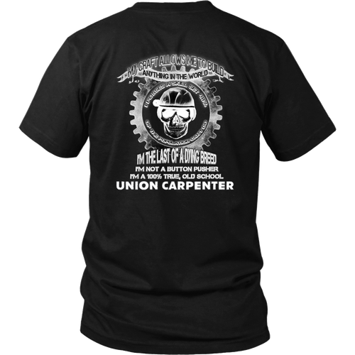 Union Carpenter - Back print T-shirt
