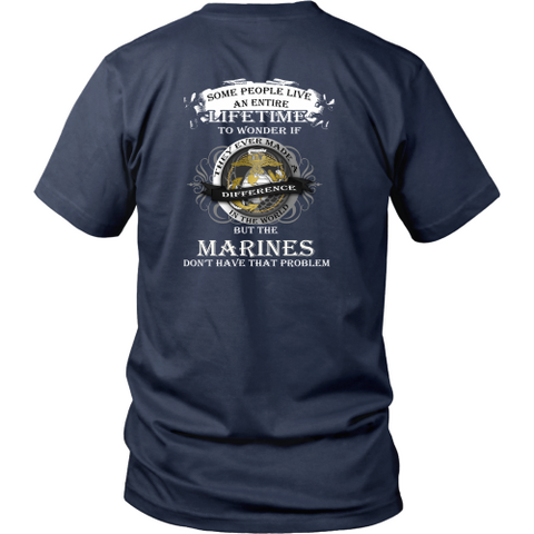 Marine T-shirt - Marines don't have that problem