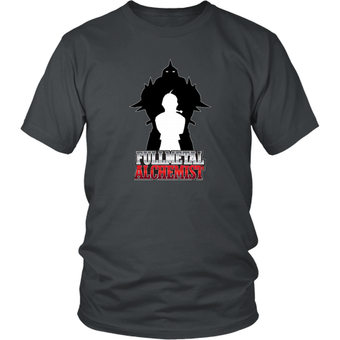 Fullmetal alchemist T-Shirt Anime Manga Series Unisex Adult Men Women Shirt Tees