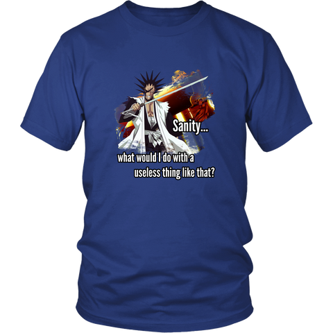 Anime T-shirt - Bleach - Sanity... what would I do with a useless thing like that?