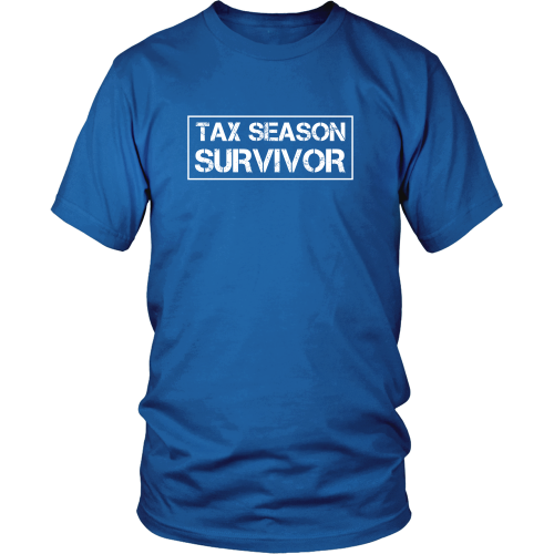 Accountant T-shirt - Tax season survivor