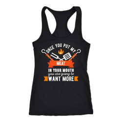 BBQ T-shirt, hoodie and tank top. BBQ funny gift idea.