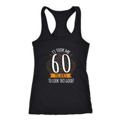 60th birthday T-shirt, hoodie and tank top. 60th birthday funny gift idea.