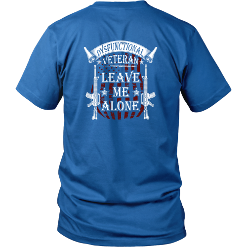 Veterans T-shirt - Leave me alone