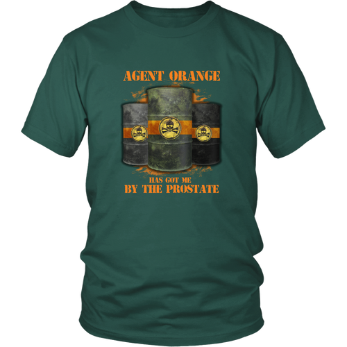 Agent Orange T-shirt - Agent Orange has got me by the prostate