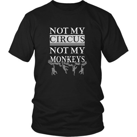 Monkeys - Not my circus, not my monkeys