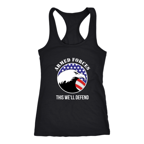 Armed Forces T-shirt, hoodie and tank top. Armed Forces funny gift idea.