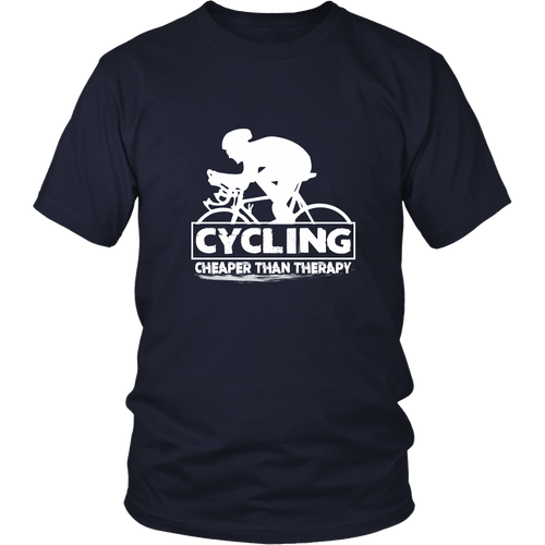 Cycling T-shirt - Cycling, cheaper than therapy