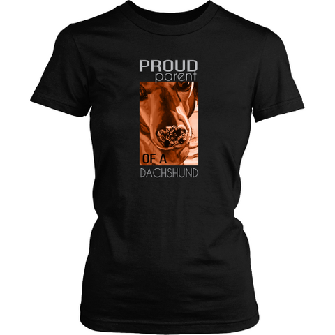 Dachshund T-shirt - Proud parent of a dachshund