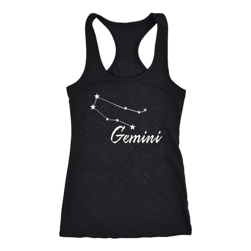 Gemini T-shirt, hoodie and tank top. Gemini funny gift idea.