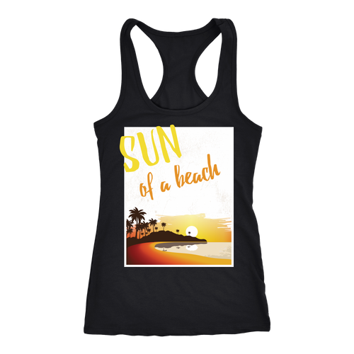 Beach T-shirt, hoodie and tank top. Beach funny gift idea.