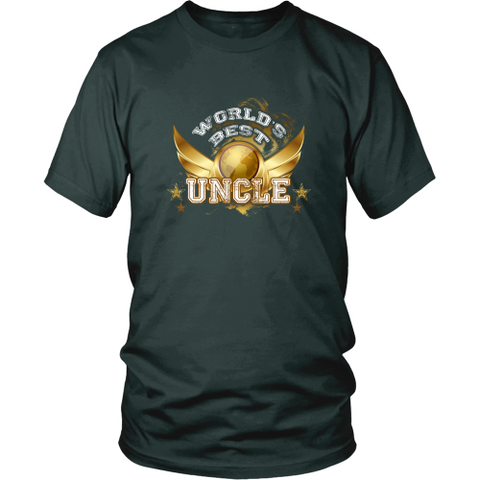 Uncle T-shirt - World's best uncle