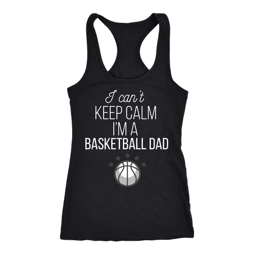Basketball Dad T-shirt, hoodie and tank top. Basketball Dad funny gift idea.