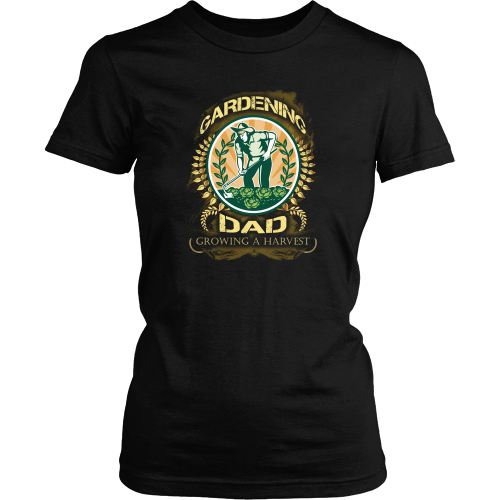 Gardening T-shirt - Gardening dad, growing a harvest