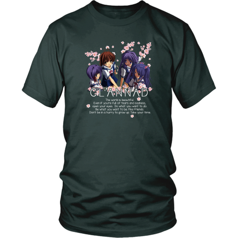 Anime T-shirt - Clannad - The world is beautiful