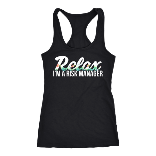 Risk Manager T-shirt, hoodie and tank top. Risk Manager funny gift idea.