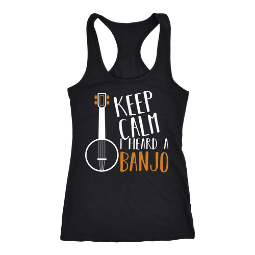 Banjo T-shirt, hoodie and tank top. Banjo funny gift idea.