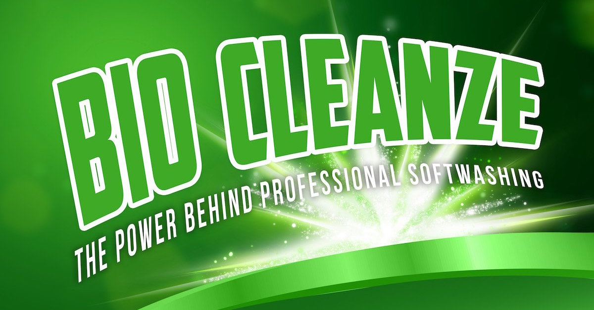 Benz Bio Cleanze DDAC softwash biocide for professional soft washing