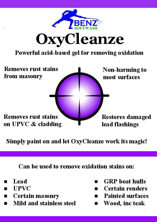 Benz OxyCleanze rust (oxidation) removal gel