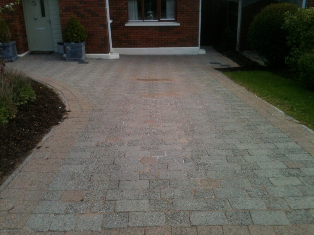Cleaning Cobblelock or brick paving