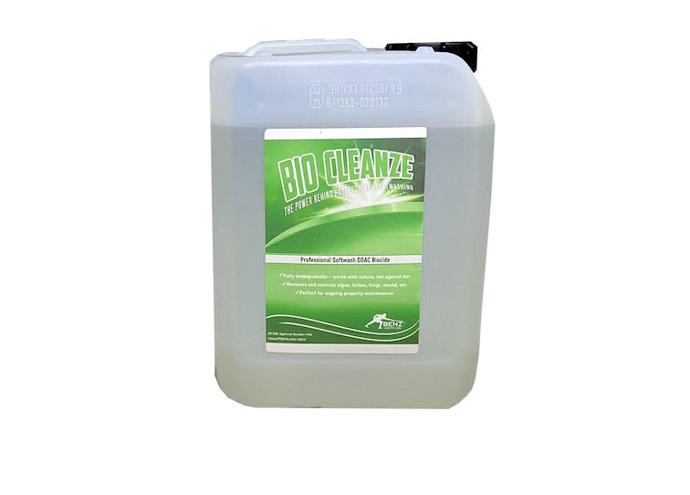 BIO CLEANZE – The softwash biocide with residual protective power