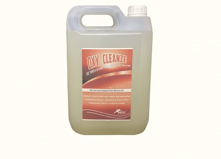 OXY CLEANZE – Kills rust, removes rust stains & dissolves limescale