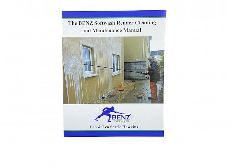 RENDER CLEANING MANUAL: The definitive how-to guide to softwashing render